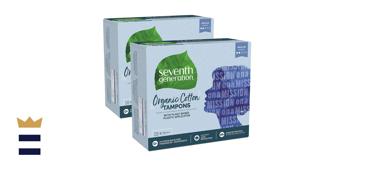 Seventh Generation Organic Cotton Tampons