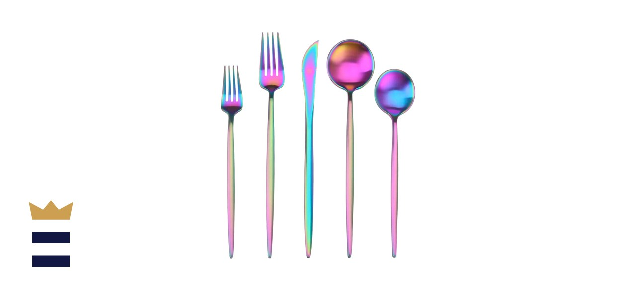 Sharecook Matte Multicolor Silverware Set