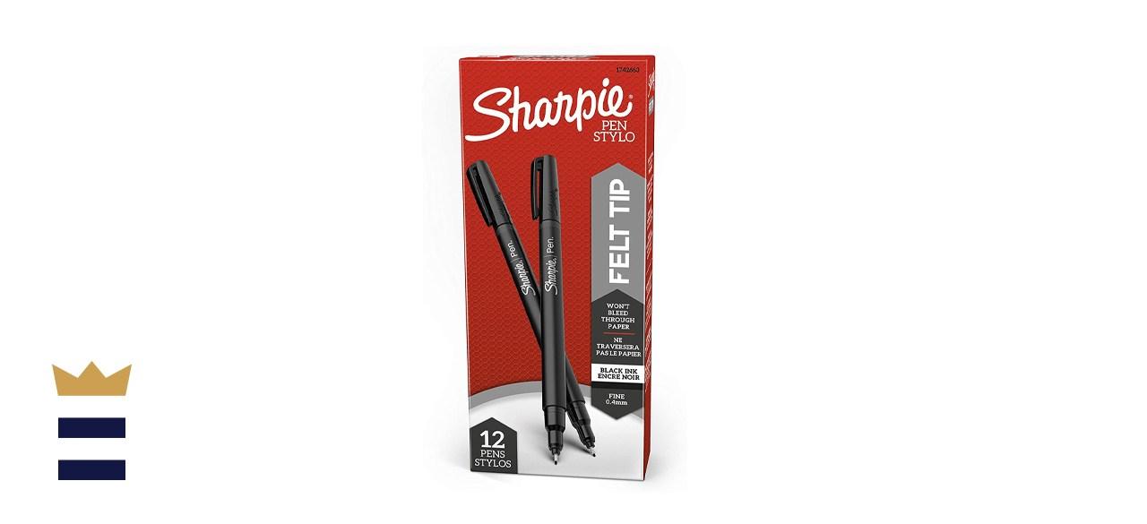Sharpie Fine-Point Felt-Tip Pens