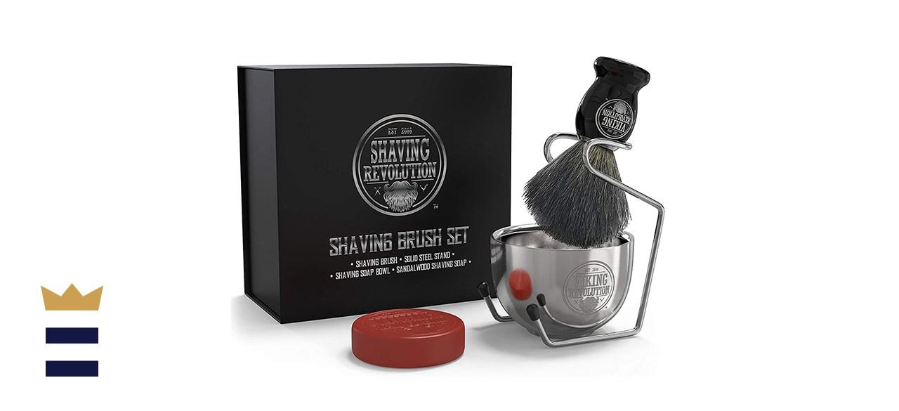 Shaving Revolution Luxury Shaving Brush Set