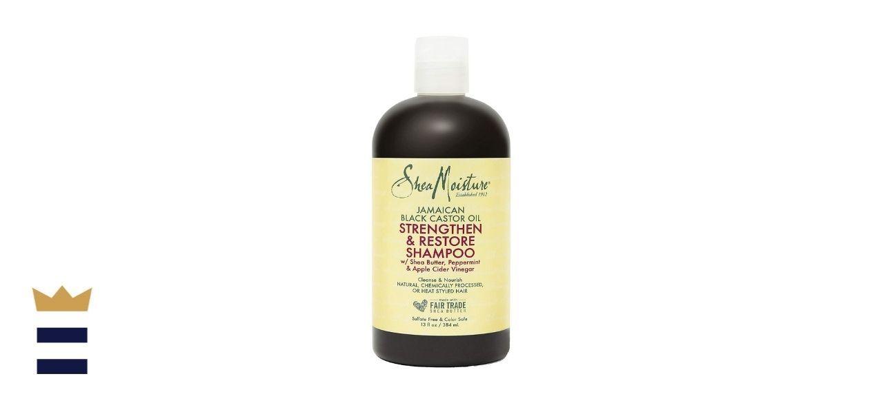 Shea Moisture Strengthen and Restore Jamaican Black Castor Oil Shampoo