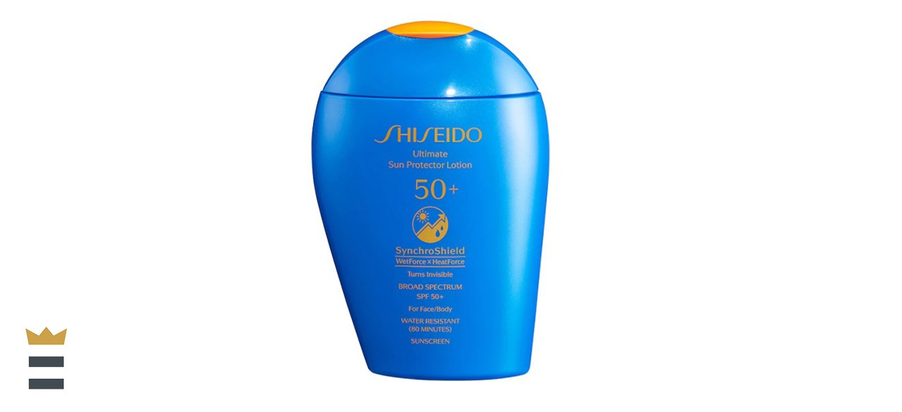 Shiseido Ultimate Sun Protector Lotion SynchroShield Broad-Spectrum Sunscreen SPF 50+