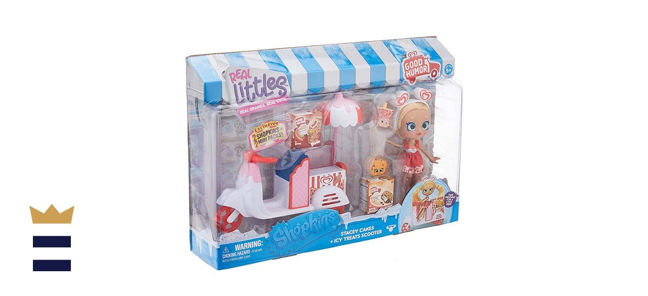 Shopkins Real Littles Stacey Cakes and ICY Treats Scooter