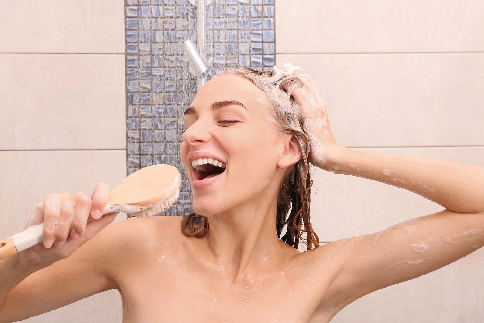 shower brushes