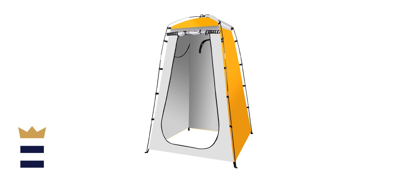 Single room shower tents
