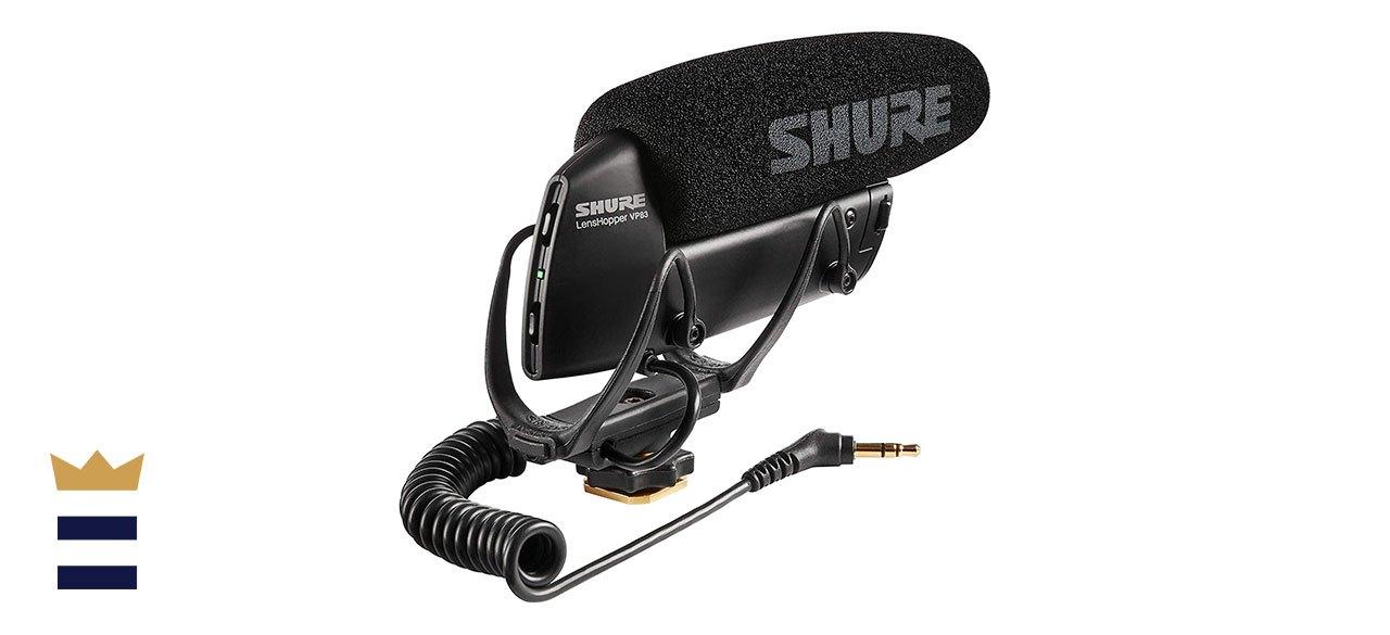 Shure's VP83 LensHopper Camera-Mounted Condenser Microphone