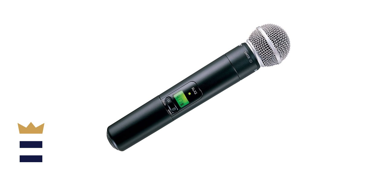 Shure SLX2/SM58 Wireless Handheld Microphone Transmitter with SM58 Capsule