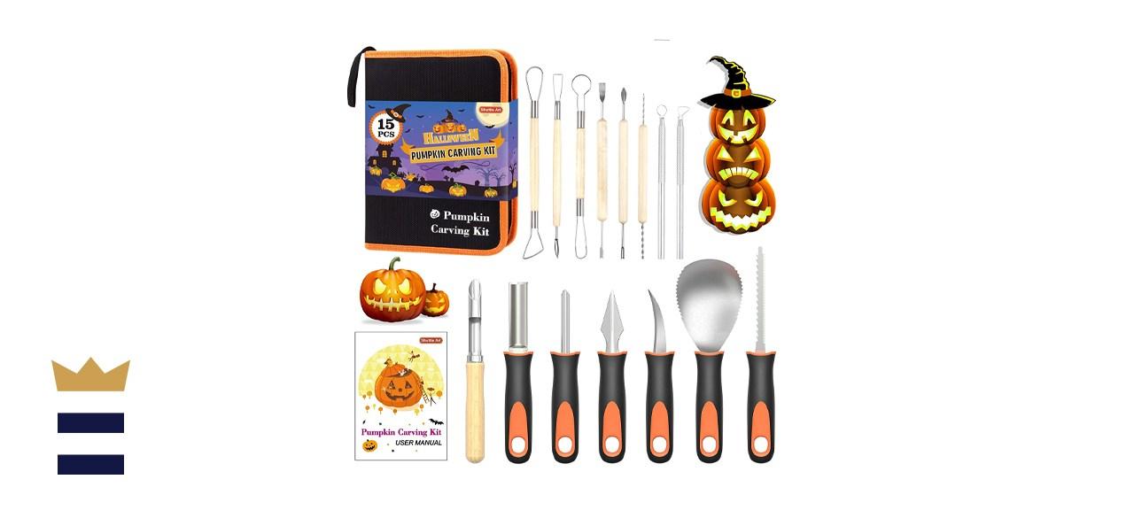 Shuttle Art Store Halloween Pumpkin Carving Kit