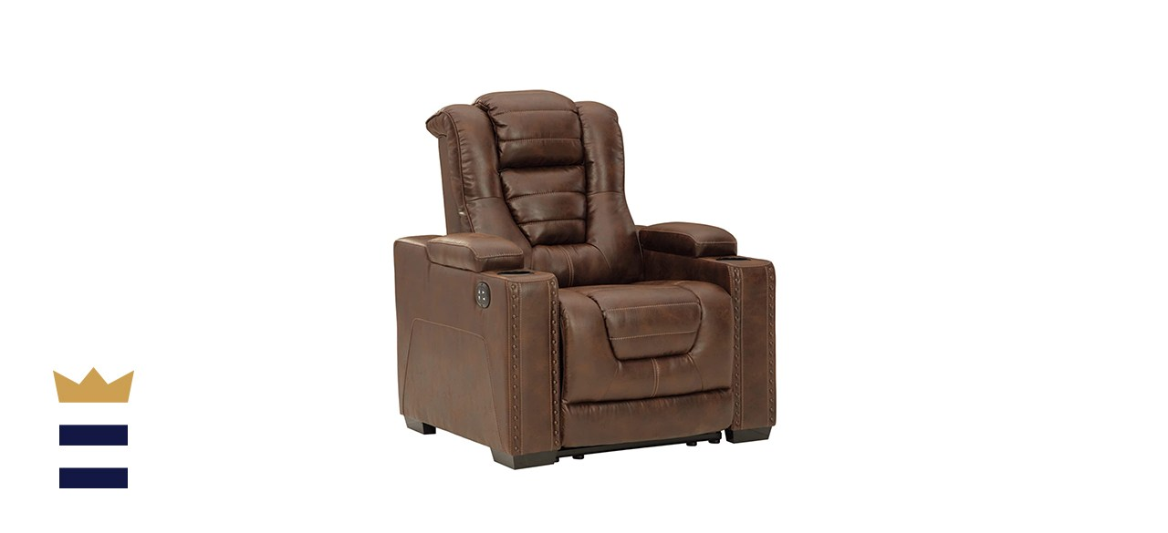 Signature Design By Ashley Owner's Box Power Recliner