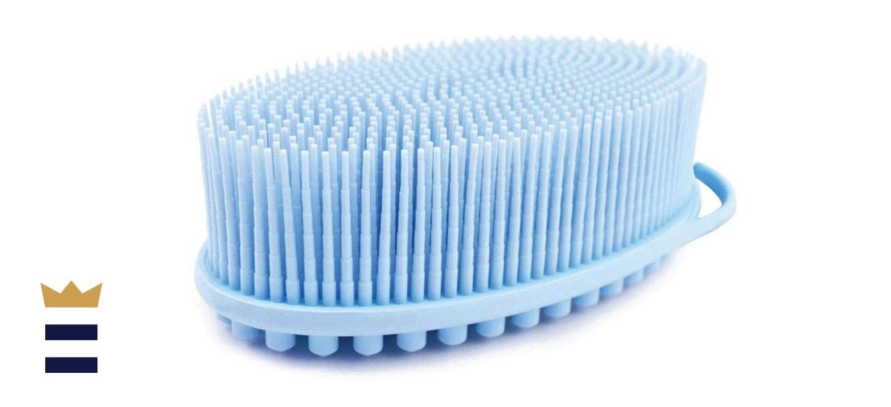 Avilana Exfoliating Silicone Body Scrubber Easy to Clean
