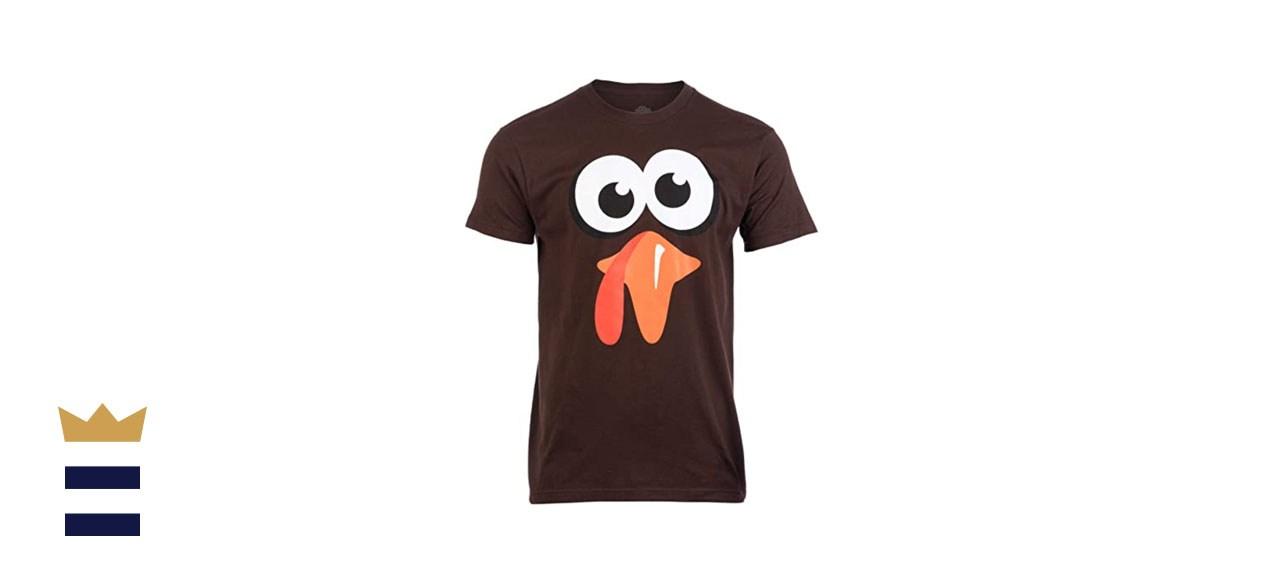 Silly Turkey Face T-shirt