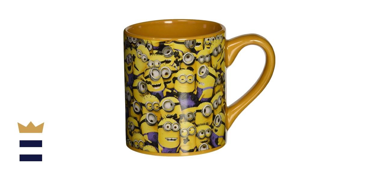 Silver Buffalo Despicable Me Cluttered Minions Ceramic Mug