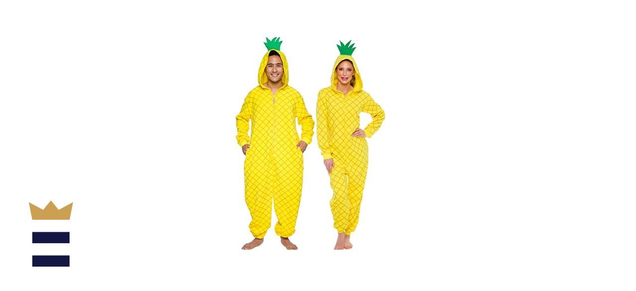 Silver Lilly Pineapple Pajamas