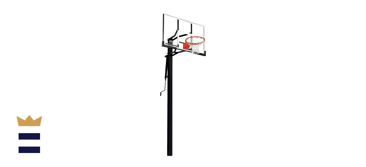 Silverback In-Ground Height-Adjustable Basketball System