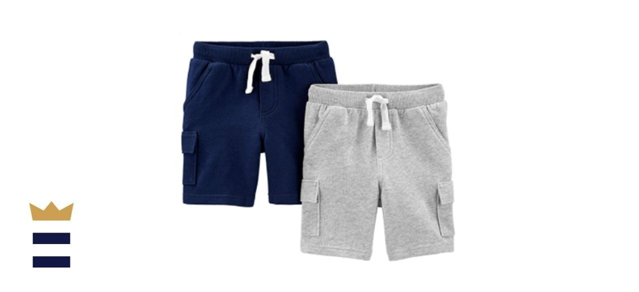 Simple Joys by Carter's Multi-Pack Knit Shorts