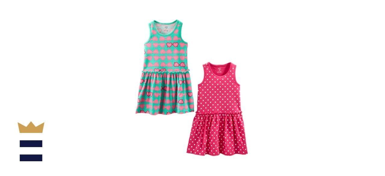 Simple Joys by Carter's Sleeveless Dresses