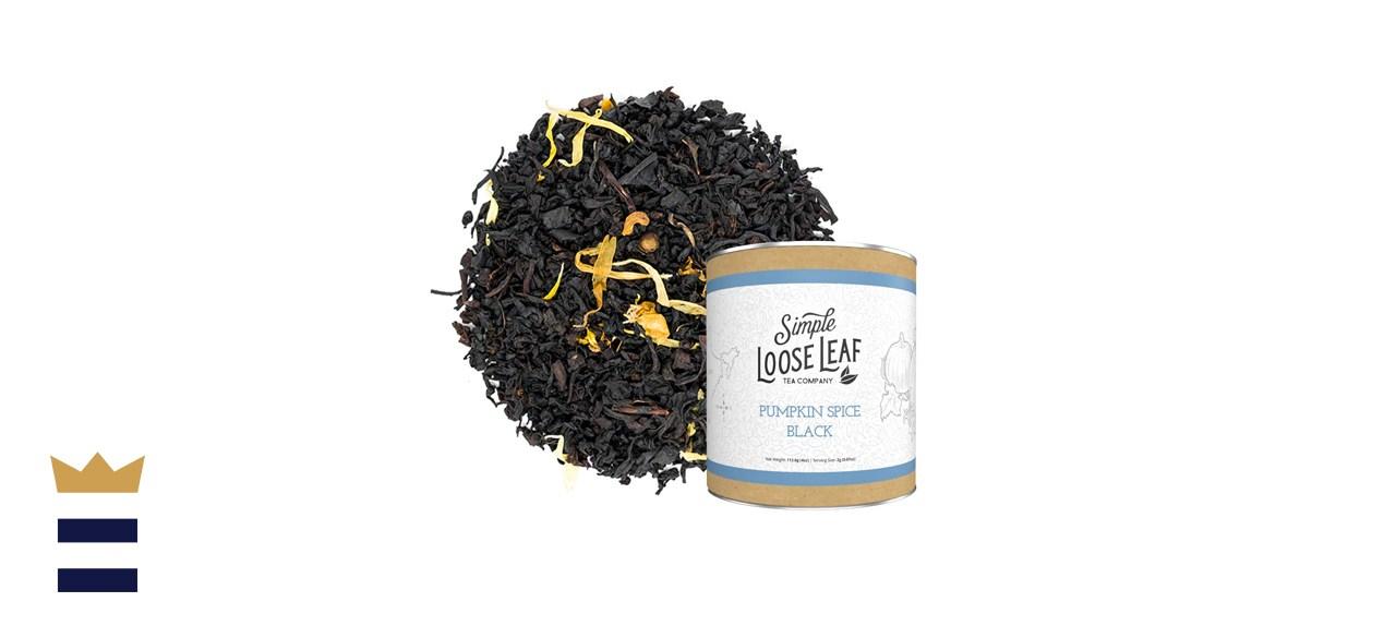 Simple Loose Leaf Pumpkin Spice Black Tea
