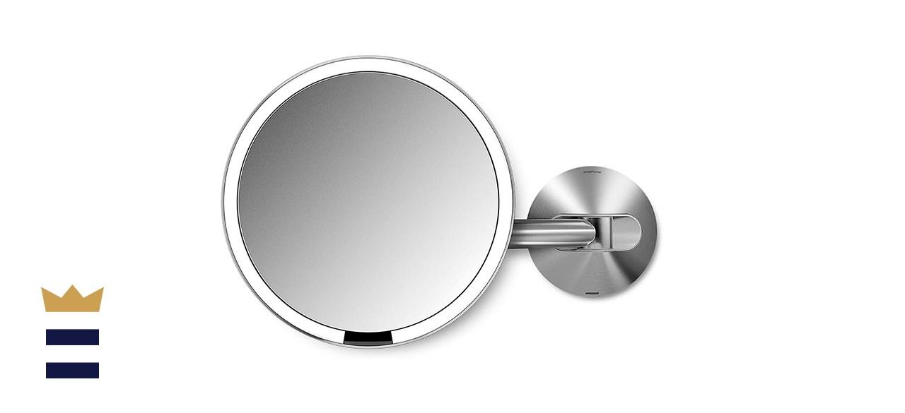 Simplehuman Round Wall Mount Makeup Mirror