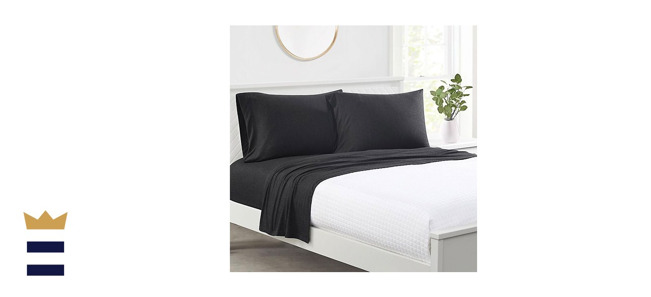 Simply Essential Heathered Cotton Jersey Twin XL Sheet Set