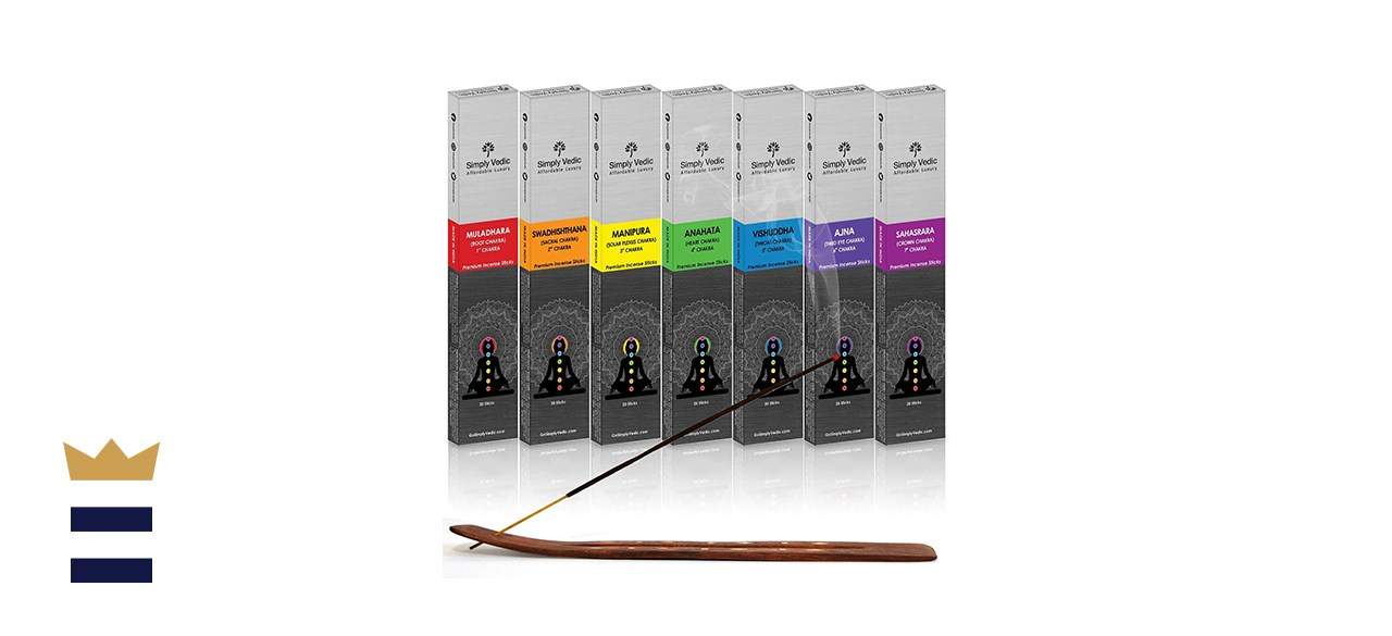 Simply Vedic 7 Chakra Premium Agarbatti Incense
