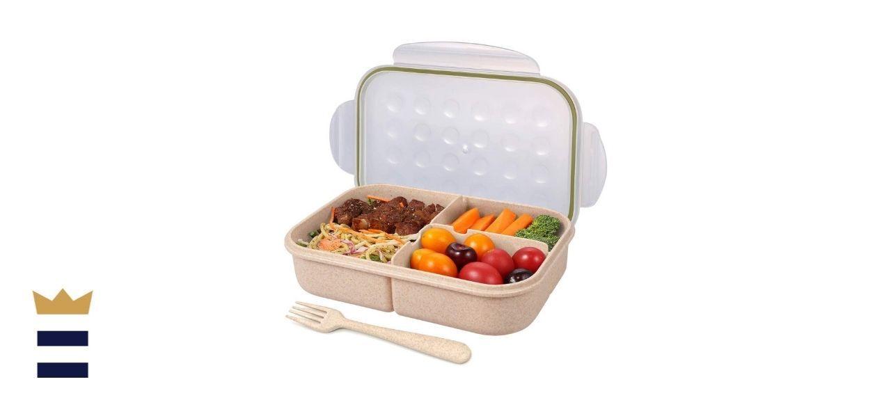 Single-tier bento boxes