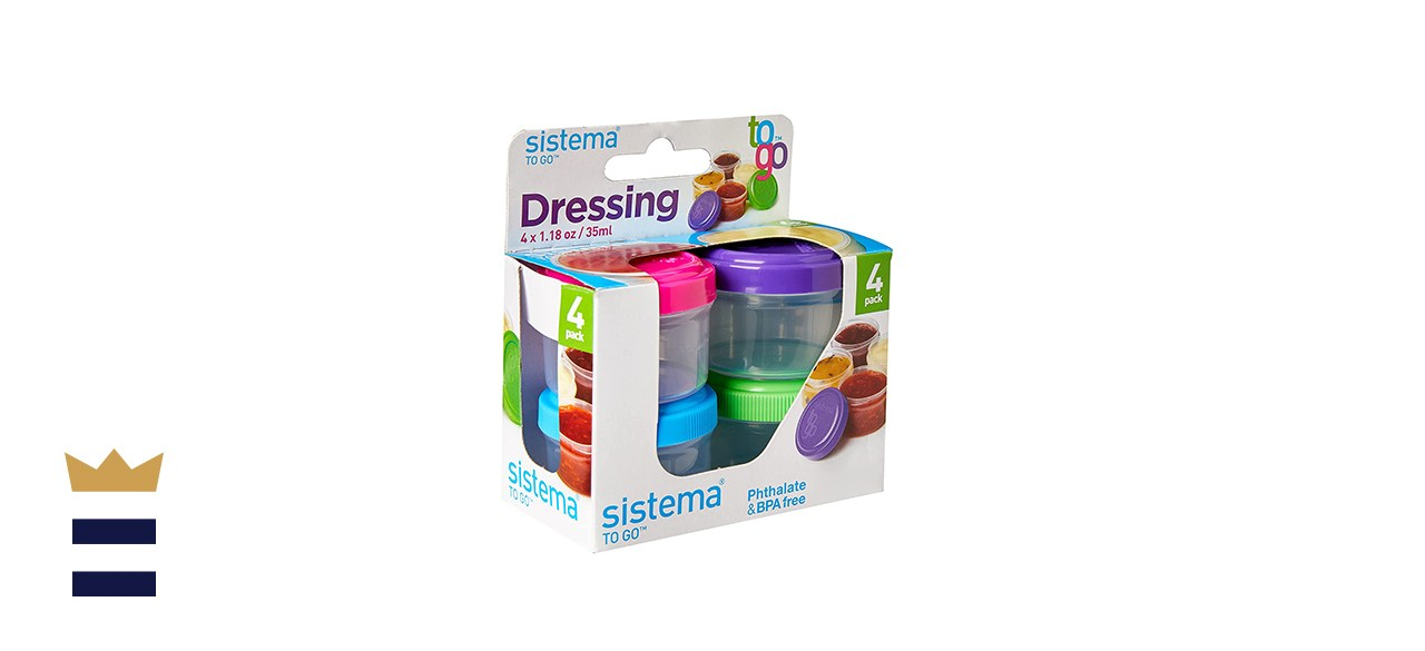 Sistema To Go Collection Salad Dressing Containers
