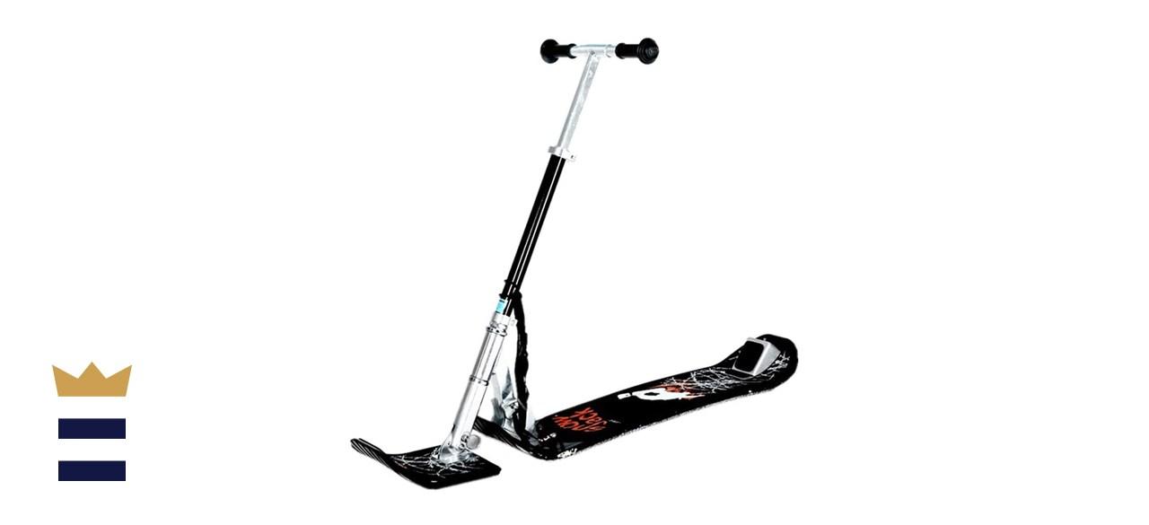 SLHLAWWE Folding Ski Bike Snow Scooter