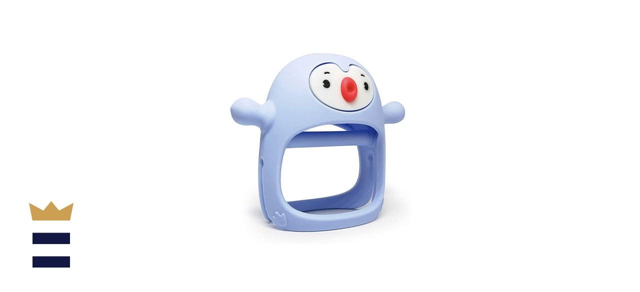 Smily Mia Penguin Buddy Never Drop Teething Toy