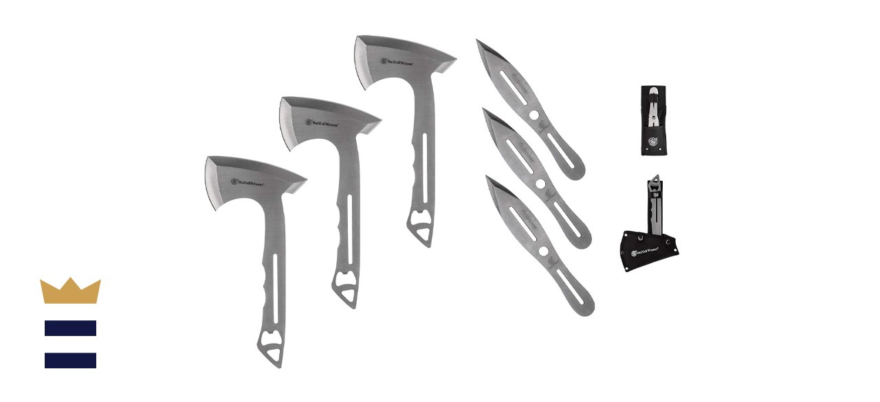 Smith & Wesson Throwing Knives and Axes Combo