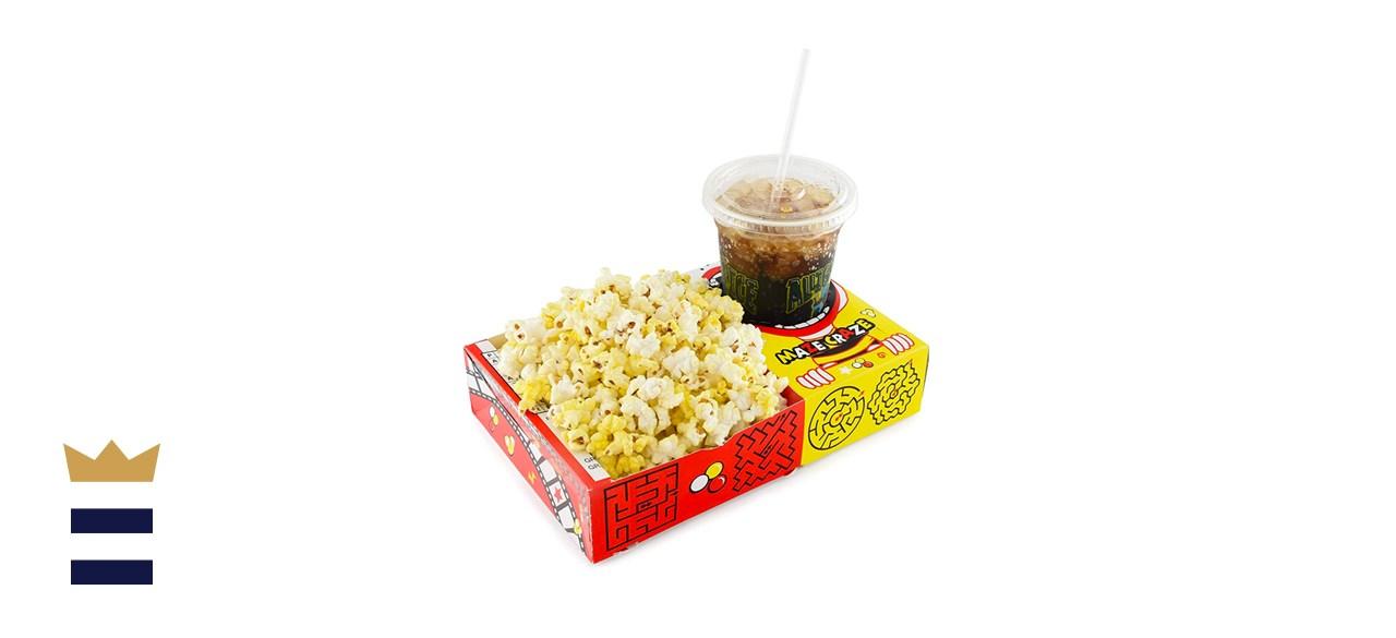 Snappy Maze Craze Combo Movie Popcorn Trays