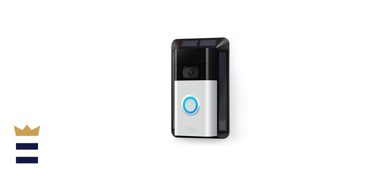 Solar Charger for Ring Video Doorbell