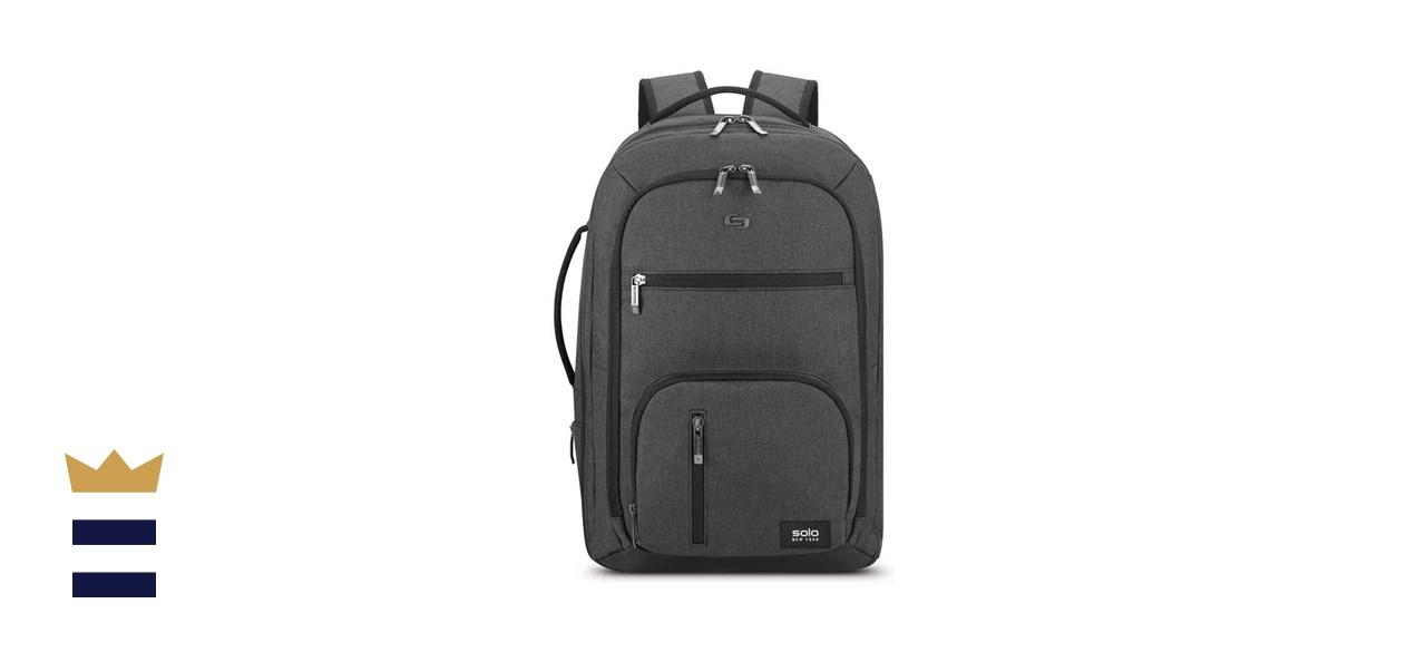 Solo New York Downtown Grand Travel TSA Backpack