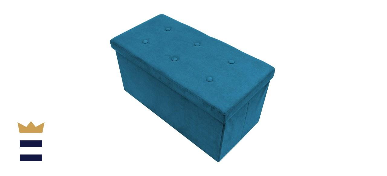 Sorbus Folding Storage Bench