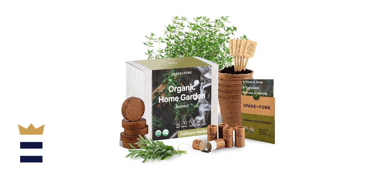 Spade to Fork Indoor Herb Garden Kit
