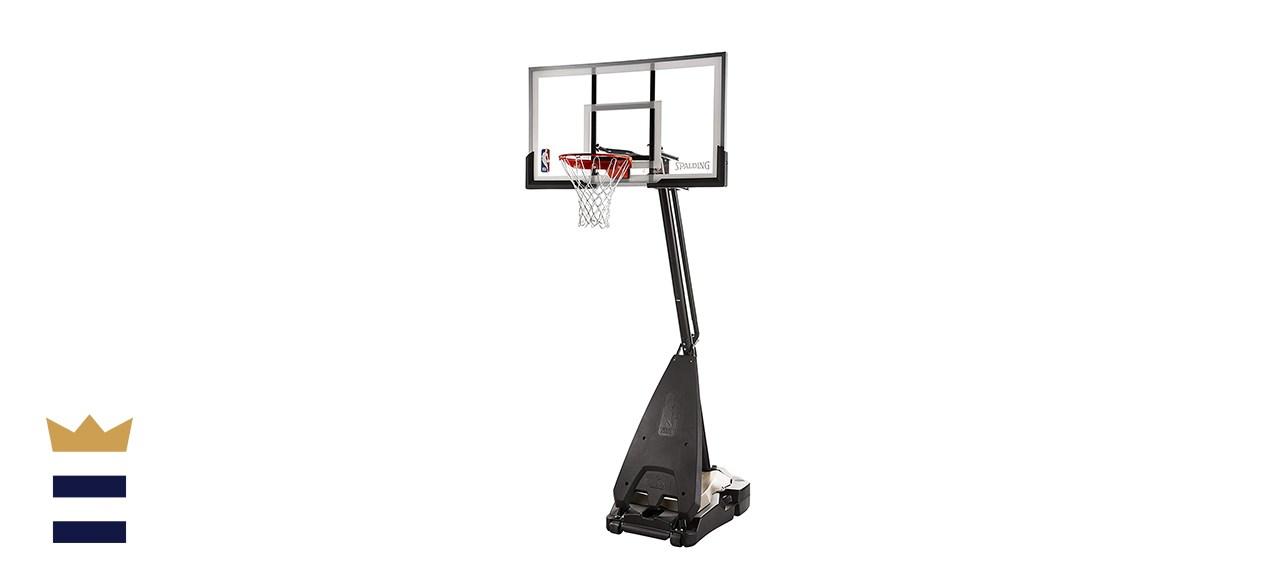 Spalding NBA Hybrid Portable Basketball Hoop System