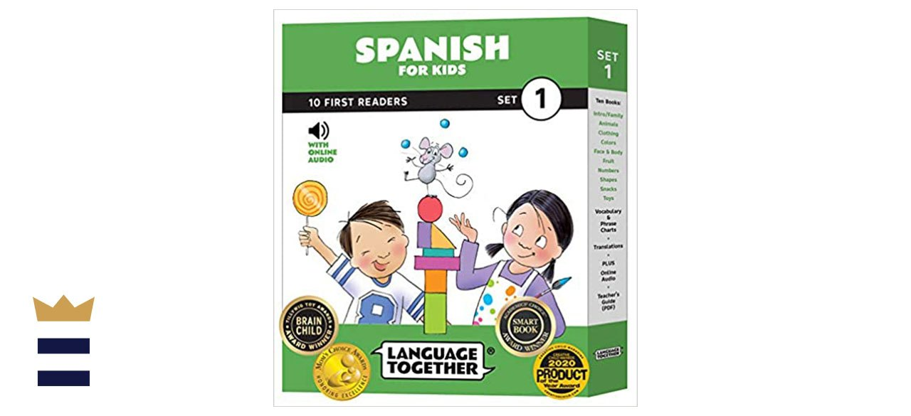 Spanish for Kids: 10 First Reader Books and Audio Set