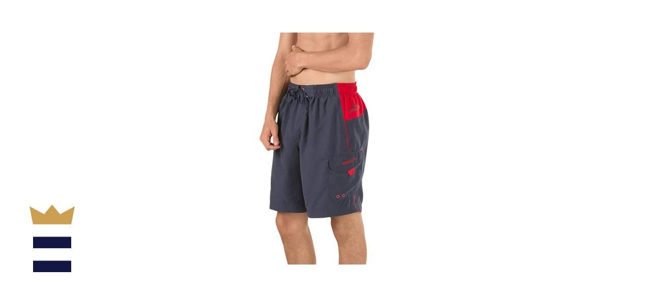 Speedo Men's Swim Trunk Knee Length Marina Sport Volley