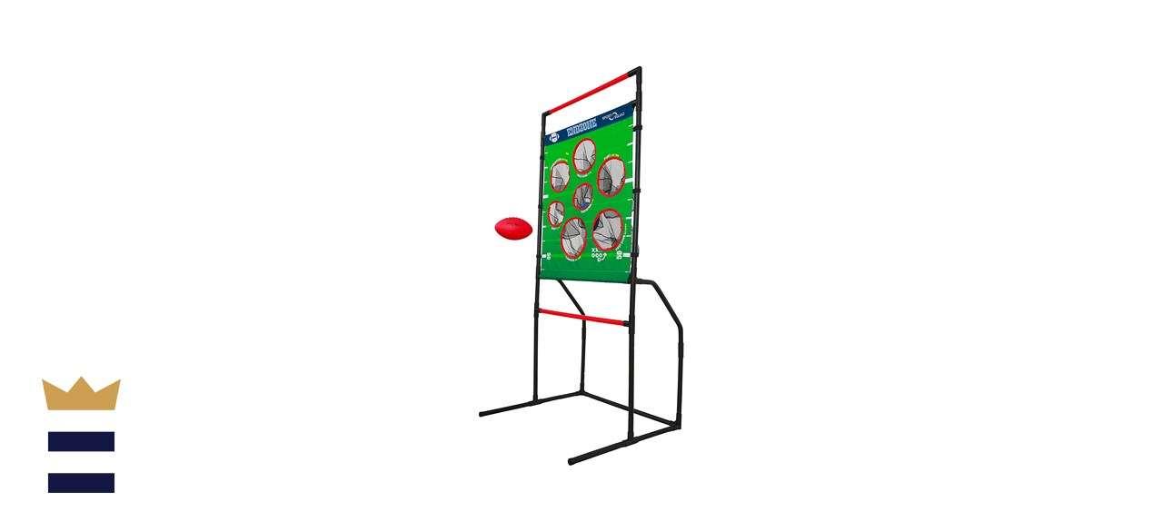 Sport Squad Endzone Challenge: 2-in-1 Football Toss and Flying Disc Toss