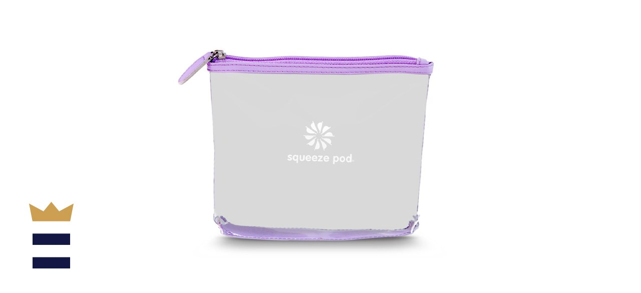 Squeeze Pod TSA-Approved Clear Toiletry Bag