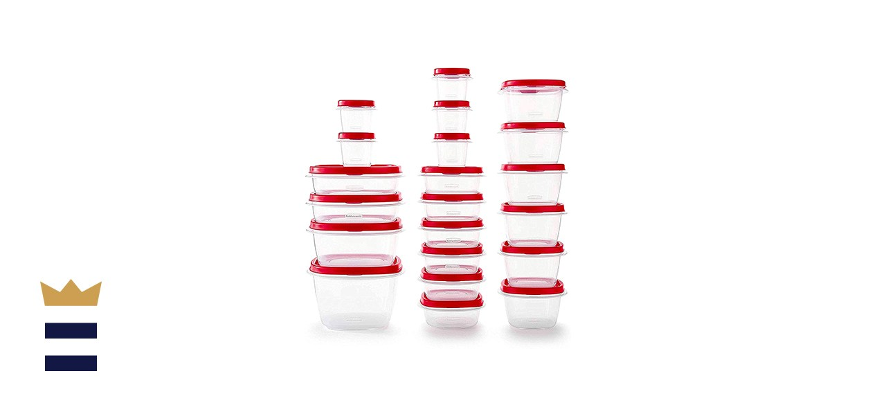 Rubbermaid - 2063704 Rubbermaid Easy Find Vented Lids Food Storage Containers