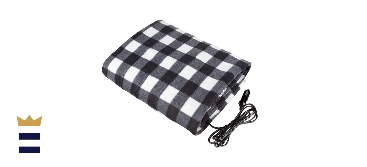 Stalwart 12V Heated Travel Blanket