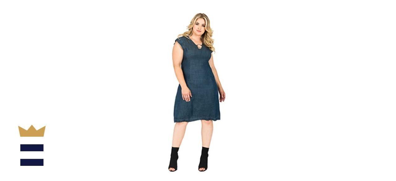 Standards & Practices Plus Size Modern Women's Dress