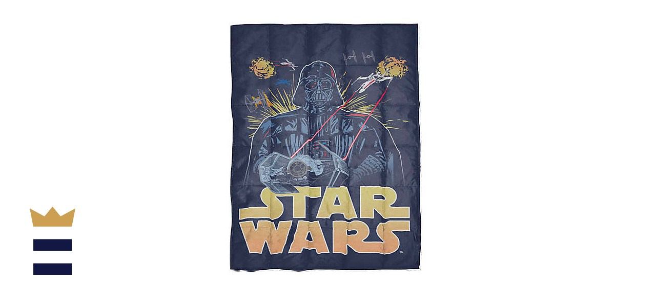 Star Wars Reversible Weighted Blanket