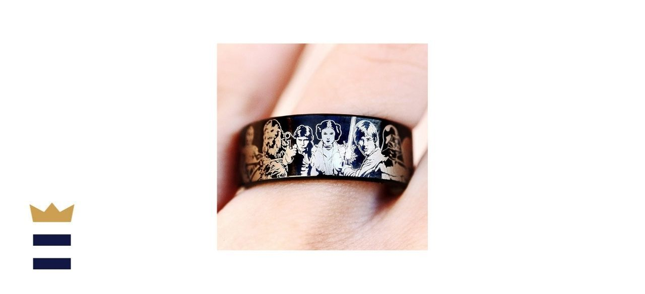 Star Wars Wedding Ringby Bloom Jewelers