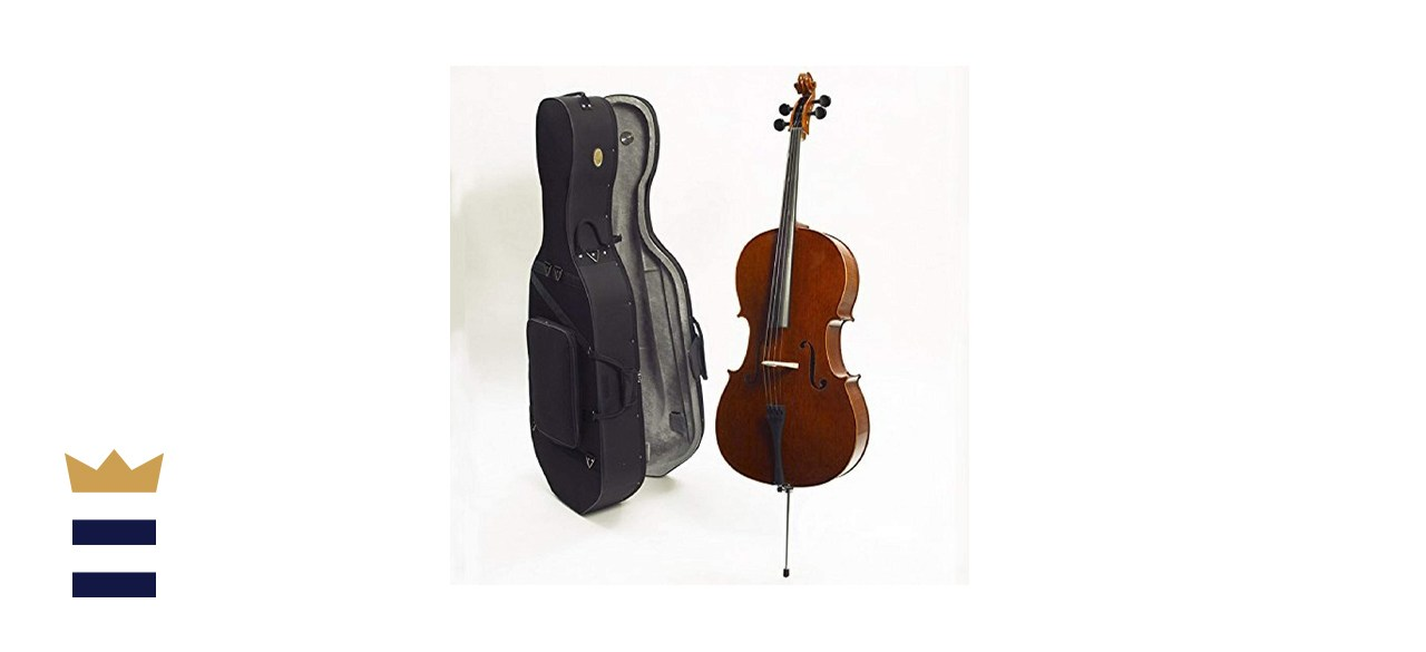 Stentor 4/4 1586 Conservatoire Full Size Acoustic Cello with Ebony Neck and Fittings