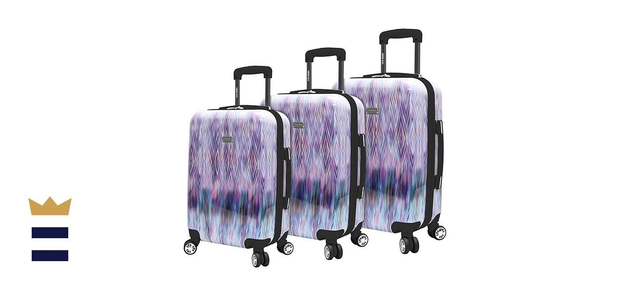 Steve Madden 3 Piece Hardside Spinner Suitcase Set