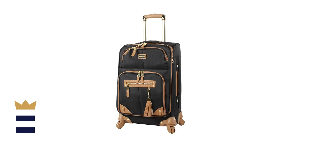 Steve Madden Carry-On Softside Expandable Suitcase