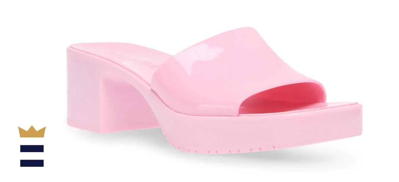 Steve Madden Women's Harlin Jelly Block-Heel Sandals