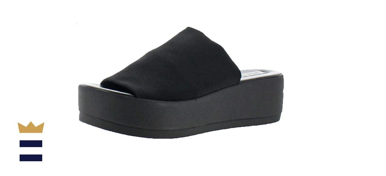 Steve Madden Women's Slinky30 Wedge Sandal