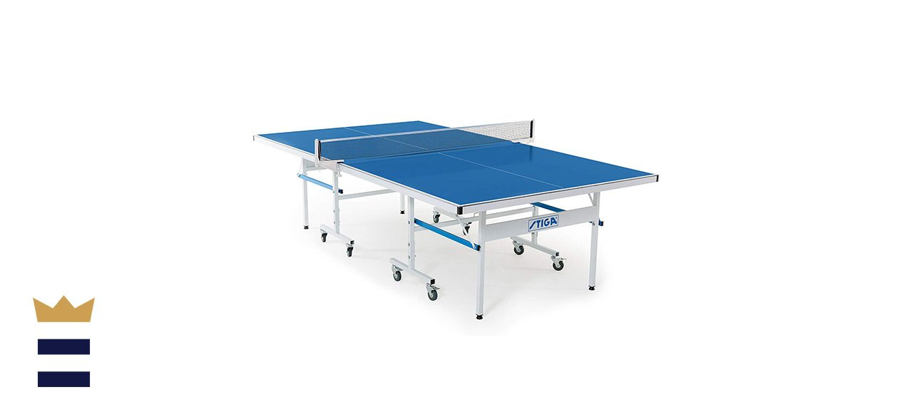 STIGA's Advantage Lite Recreational Indoor Table Tennis Table